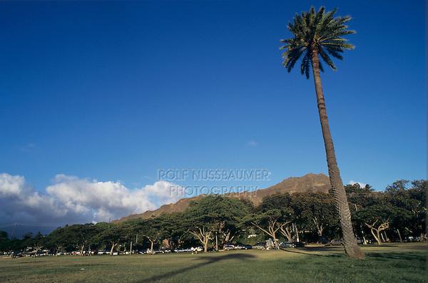 City Park, Honolulu, Oahu, Hawaii, USA, August 1996