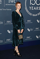 Lily Newmark at the IWC Schaffhausen Gala Dinner in honour of the BFI at the Electric Light Station, Shoreditch, London on October 9th 2018<br /> CAP/ROS<br /> ©ROS/Capital Pictures