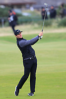 Lucas Bjerregaard (DEN) on the 4th during Round 4 of the Alfred Dunhill Links Championship 2019 at St. Andrews Golf CLub, Fife, Scotland. 29/09/2019.<br /> Picture Thos Caffrey / Golffile.ie<br /> <br /> All photo usage must carry mandatory copyright credit (© Golffile | Thos Caffrey)
