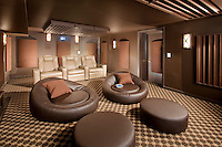 Home Theater With Free Style Relaxation