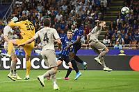 Duvan Zapata of Atalanta scoring a goal.<br /> Milano 01-10-2019 Stadio Giuseppe Meazza <br /> Football Champions League 2019//2020 <br /> Group Stage Group C <br /> Atalanta - Shakhtar Donetsk  <br /> Photo Image Sport / Insidefoto