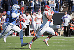 October 24, 2015 - Colorado Springs, Colorado, U.S. - Fresno State running back, Marteze Waller #33, breaks free for a first quarter touchdown during the NCAA Football game between the Fresno State Bulldogs and the Air Force Academy Falcons at Falcon Stadium, U.S. Air Force Academy, Colorado Springs, Colorado.  Air Force defeats Fresno State 42-14.