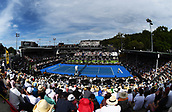 10th January 2018, ASB Tennis Centre, Auckland, New Zealand; ASB Classic, ATP Mens Tennis;  General view of centre court during the ASB Classic ATP Men's Tournament Day 3
