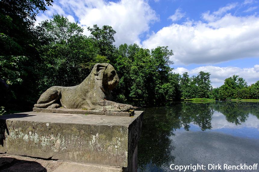 Landschaftspark Arkadia bei Lowicz, Woiwodschaft Lodz (Wojew&oacute;dztwo ł&oacute;dzkie), Polen, Europa<br /> Landscape garden Arkadia  near Lowicz, Poland, Europe