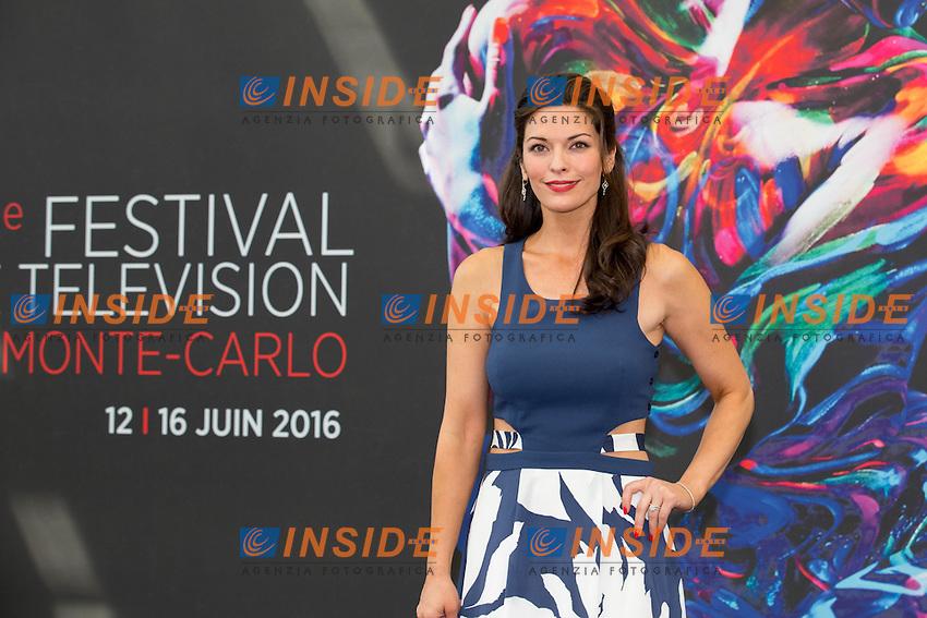 Alana DE LA GARZA, Criminal Minds&nbsp;: Beyond Borders<br /> <br /> Monaco Montecarlo 14-06-2016 <br /> 56th Monaco TV Festival - Photocall Opening Ceremony <br /> Foto Nicolas Gavet Panoramic / Insidefoto