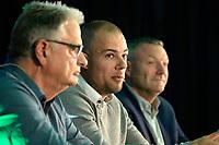 30 KM<br /> GRONINGEN -  presentatie trainersduo Danny Buijs en Hennie Spijkerman tijdens sportforum 18-5-2018