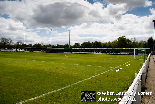 General view of the Eon Visual Media Stadium, Grange Lane North Ferriby. Vanarama National League North, Promotion Final, North Ferriby United v FC Fylde, 14th May 2016.