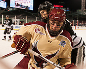 Kasper Björkqvist (PC - 20), David Cotton (BC - 17) - The Boston College Eagles defeated the Providence College Friars 3-1 (EN) on Sunday, January 8, 2017, at Fenway Park in Boston, Massachusetts.