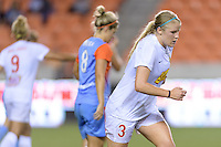 Houston, TX - Saturday July 30, 2016: Makenzy Doniak during a regular season National Women's Soccer League (NWSL) match between the Houston Dash and the Western New York Flash at BBVA Compass Stadium.