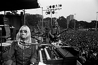 The Allman Brothers performing at the Sunset Concert Series 'Summerthing' at Boston on the Common in Boston, MA in the summer of 1971. <br /> *** NEVER BEFORE PUBLISHED PHOTOS ***<br /> © Peter Tarnoff / MediaPunch