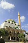 Israel, Acco, Al Jazzar Mosque in the old city