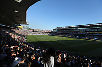 A big crowd and fans during the Black Caps v Australia international T20 cricket match at Eden Park in Auckland, New Zealand. 16 February 2018. Copyright Image: Peter Meecham / www.photosport.nz