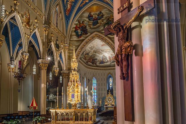Dec. 10, 2014; Basilica of the Sacred Heart (Photo by Matt Cashore/University of Notre Dame)