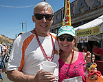 Pete and Cathy Baker from Tahoe at the 34th Annual Chili on the Comstock Cook Off in Virginia City on Sunday, May 21, 2017.