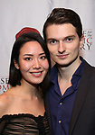 """Maximilian Morel and guest attend the Opening Night Celebration for Ensemble for the Romantic Century Off-Broadway Premiere of<br />""""Maestro"""" at the West Bank Cafe on January 15, 2019 in New York City."""
