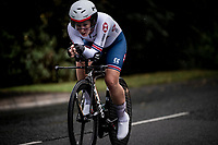 Hayley Simmonds (GBR)<br /> Elite Women Individual Time Trial<br /> <br /> 2019 Road World Championships Yorkshire (GBR)<br /> <br /> ©kramon