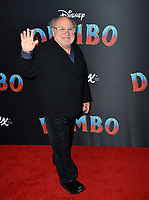 "LOS ANGELES, CA. March 11, 2019: Danny DeVito at the world premiere of ""Dumbo"" at the El Capitan Theatre.<br /> Picture: Paul Smith/Featureflash"