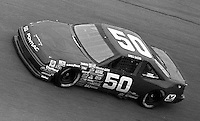 Greg Sacks #50 Pontiac Daytona 500 at Daytona International Speedway in Daytona Beach, FL on February 14, 1988. (Photo by Brian Cleary/www.bcpix.com)