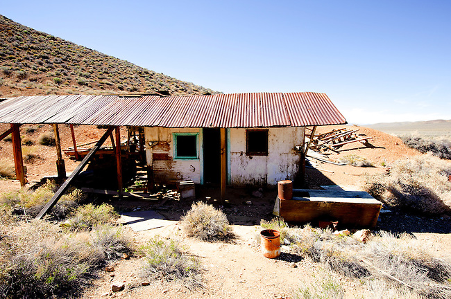 Augereberry Camp at the Eureka Mine, Death Valley National Park