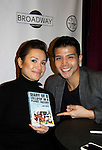 """As The World Turns Lea Salonga apnd Telly Leung (Glee) and both are starring in the play """"Allegiance"""" attend the first ever 3-day Broadway Con on January 22 - 24, 2016 at the Hilton Hotel, New York City, New York. (Photo by Sue Coflin/Max Photos)"""