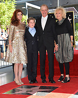 Debra Messing &amp; son &amp; family at the Hollywood Walk of Fame Star Ceremony honoring actress Debra Messing on Hollywood Boulevard, Los Angeles, USA 06 Oct. 2017<br /> Picture: Paul Smith/Featureflash/SilverHub 0208 004 5359 sales@silverhubmedia.com