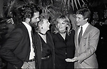 """Gregory Harrison, Gwen Verdon, Sherri North and Andrew Stevens in """"Legs"""" an American made-for-television musical drama film at Radio City Music Hall on 9/03/1983 in New York City."""