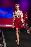 S&Atilde;O PAULO-SP-03.03.2015 - INVERNO 2015/MEGA FASHION WEEK -Grife Cechiq/<br /> O Shopping Mega Polo Moda inicia a 18&deg; edi&ccedil;&atilde;o do Mega Fashion Week, (02,03 e 04 de Mar&ccedil;o) com as principais tend&ecirc;ncias do outono/inverno 2015.Com 1400 looks das 300 marcas presentes no shopping de atacado.Br&aacute;z-Regi&atilde;o central da cidade de S&atilde;o Paulo na manh&atilde; dessa segunda-feira,02.(Foto:Kevin David/Brazil Photo Press)