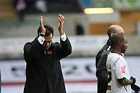 Pictured: Roberto Martínez manager of Swansea City<br /> Re: Coca Cola Championship, Swansea City Football Club v Watford at the Liberty Stadium, Swansea, south Wales 09 November 2008.<br /> Picture by Dimitrios Legakis Photography (Athena Picture Agency), Swansea, 07815441513