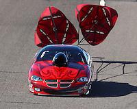 Feb 24, 2017; Chandler, AZ, USA; NHRA top sportsman driver Robert Cornine during qualifying for the Arizona Nationals at Wild Horse Pass Motorsports Park. Mandatory Credit: Mark J. Rebilas-USA TODAY Sports