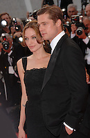 "20 September 2016 - Los Angeles, CA - Angelina Jolie Pitt has filed for divorce from Brad Pitt. Jolie Pitt, 41, filed legal docs Monday citing irreconcilable differences. Jolie Pitt requested physical custody of the couple's shared six children – Maddox, Pax, Zahara, Shiloh, Vivienne, and Knox – asking for Pitt to be granted visitation, citing legal documents. File Photo: Brad Pitt & Angelina Jolie at screening for their new movie ""A Mighty Heart"" at the 60th Annual International Film Festival de Cannes. May 21, 2007  Cannes, France"