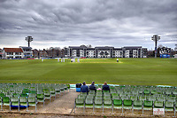 Overcast skies during the friendly game between Kent CCC and Oxford University at the St Lawrence Ground, Canterbury, on Sun Apr 1, 2018