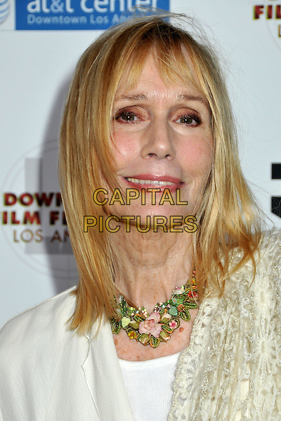 "SALLY KELLERMAN.2009 Downtown Film Festival Los Angeles Centerpiece Gala Premiere of ""Reach For Me"" held at AT&T Center, Los Angeles, CA, USA..August 14th, 2009.headshot portrait white necklace .CAP/ADM/BP.©Byron Purvis/AdMedia/Capital Pictures."