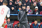 13.03.2019, Allianz Arena, Muenchen, GER, UEFA CL, FC Bayern Muenchen (GER) vs FC Liverpool (GBR) ,Achtelfinale, UEFA regulations prohibit any use of photographs as image sequences and/or quasi-video, im Bild Juergen Klopp (Trainer Liverpool) <br /> <br /> Foto © nordphoto / Straubmeier
