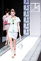 "October 19, 2012, Tokyo, Japan - A model walks down the catwalk wearing ""Tae Ashida"" during the Mercedes-Benz Fashion Week Tokyo 2013 Spring/Summer. Fashion week in Tokyo runs from October 13-20. (Photo by Christopher Jue/Nippon News)"