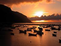 Terasitas man made beach at dawn, Tenerife, Canary Islands, Spain