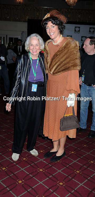 Liz Smith and Judy Gold attending the 15th Annual  Hulaween Benefit Gala at the Waldorf Astoria Hotel in New York City on October 29, 2010..The gala benefits Bette Midler's New York Restoration Project.