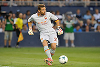 Sporting Park, Kansas City, Kansas, July 31 2013:<br /> Morgan De Santost (26) goalkeeper AS Roma.<br /> MLS All-Stars were defeated 3-1 by AS Roma at Sporting Park, Kansas City, KS in the 2013 AT & T All-Star game.