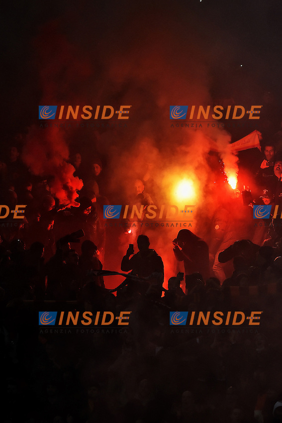 Tifosi Roma Supporters <br /> Roma 02-03-2015 Stadio Olimpico Football Calcio Serie A AS Roma - Juventus. Foto Andrea Staccioli / Insidefoto