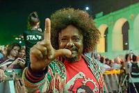 RIO DE JANEIRO, RJ, 28.07.2018 - LULA-LIVRE - Chico César durante Festival Lula Livre na Lapa, centro do Rio de Janeiro neste sábado, 28. (Foto: Clever Felix/Brazil Photo Press)
