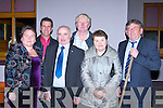 Caroline and Joe Healy, Jimmy Roche, Owen O'Meara, Joan Roche and Mike Flynn at the GAA SuperValu Club community award dinner at Cordal on Thursday night