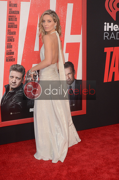 "Annabelle Wallis<br /> at the ""Tag"" World Premiere, Village Theater, Westwood, CA 06-07-17<br /> David Edwards/DailyCeleb.com 818-249-4998"