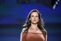 NOVA YORK,USA, 12.02.2019 - MODA-NOVA YORK - Modelo Alessandra Ambrosio durante desfile da grife John John no New York Fashion Week (NYFW) em Nova York nesta terça-feira, 12. (Foto: Vanessa Carvalho/Brazil Photo Press)