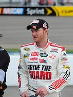 May 1, 2009; Richmond, VA, USA; NASCAR Sprint Cup Series driver Dale Earnhardt Jr during qualifying for the Russ Friedman 400 at the Richmond International Raceway. Mandatory Credit: Mark J. Rebilas-