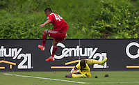 "Carson, Calif. - Saturday, July 18, 2015: FC Dallas defeat New York Red Bulls to win the 2014-15 U-16 US Soccer Development Academy Championship at Glenn ""Mooch"" Myernick Field at StubHub Center."