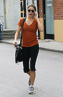Twilight hottie Nikki Reed seen talking busy on her cell phone while leaving a gym in Los Angeles, California on 03.05.2012.Credit: Correa/face to face.