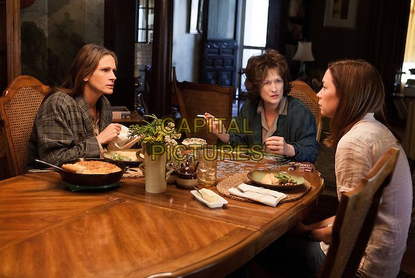 Julia Roberts, Meryl Streep, Julianne Nicholson<br /> in August: Osage County (2013)<br /> *Filmstill - Editorial Use Only*<br /> CAP/FB<br /> Image supplied by Capital Pictures