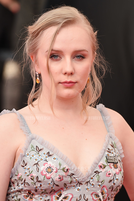 Alexa Davis arriving for the BAFTA TV Awards 2018 at the Royal Festival Hall, London, UK. <br /> 13 May  2018<br /> Picture: Steve Vas/Featureflash/SilverHub 0208 004 5359 sales@silverhubmedia.com