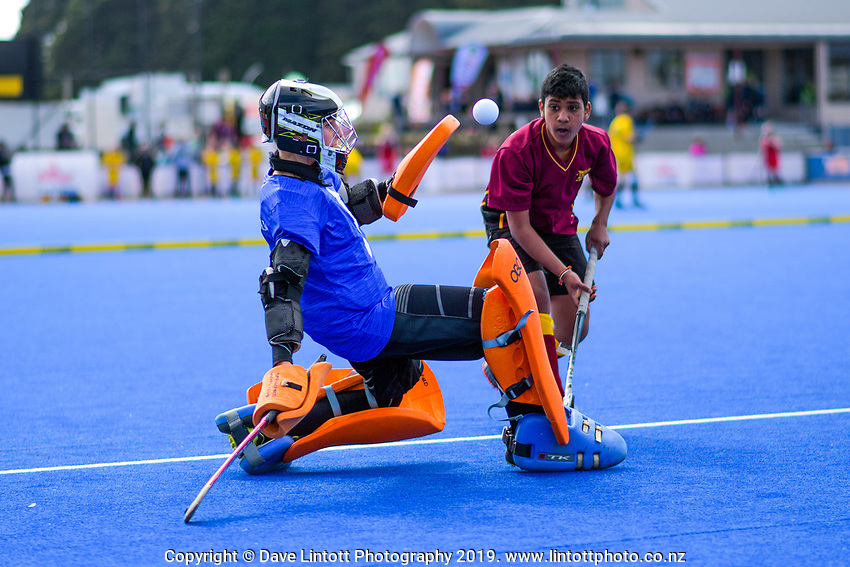 6-Aside mixed hockey final. Day six of the 2019 AIMS games at Blake Park in Mount Maunganui, New Zealand on Friday, 13 September 2019. Photo: Dave Lintott / lintottphoto.co.nz