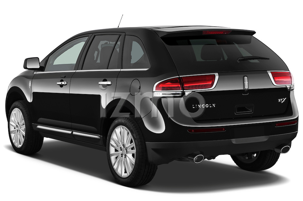 Rear three quarter view of a 2011 Lincoln MKX