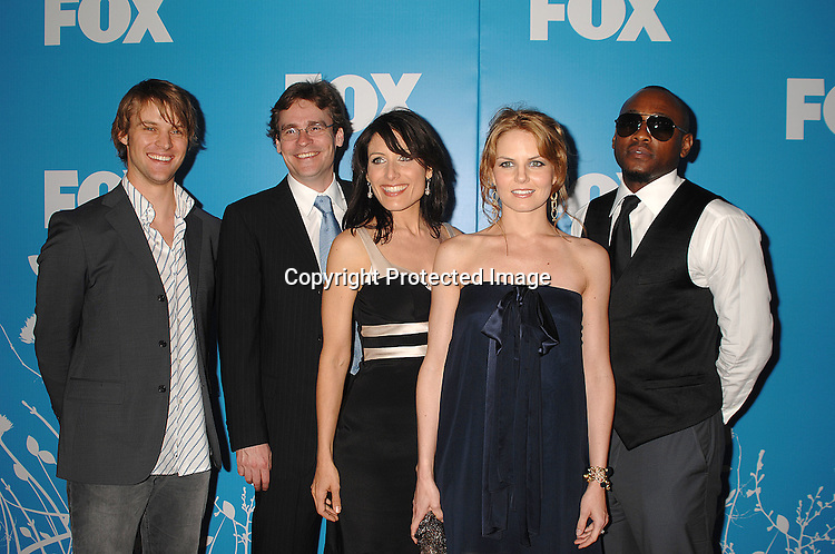 "Cast of ""House"" Jesse Spencer, Robert Sean Leonard, Lisa Edelstein, Jennifer Morrison and Omar Epps..arriving at The FOX TV Upfront on May 17, 2007 at ..Wolman Rink in Central Park in New York City. ..Robin Platzer, Twin Images........212-935-0770"